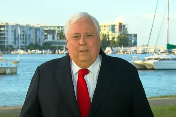 Article image for Clive Palmer charged with fraud and facing years in prison