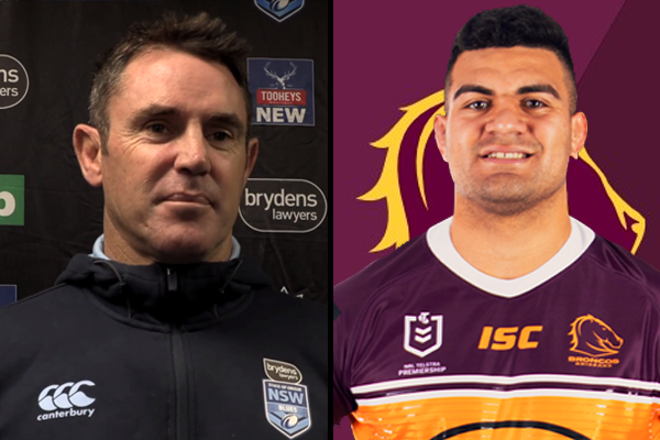 Article image for 'He needs to be happy': Brad Fittler weighs in on David Fifita saga