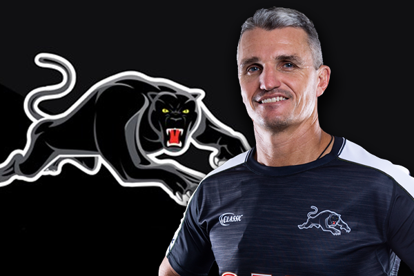 Article image for Panthers coach 'very happy' with Trent Barrett situation