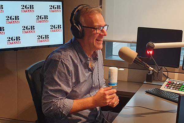 STARTS TODAY | Jim Wilson takes the reins of 2GB Drive