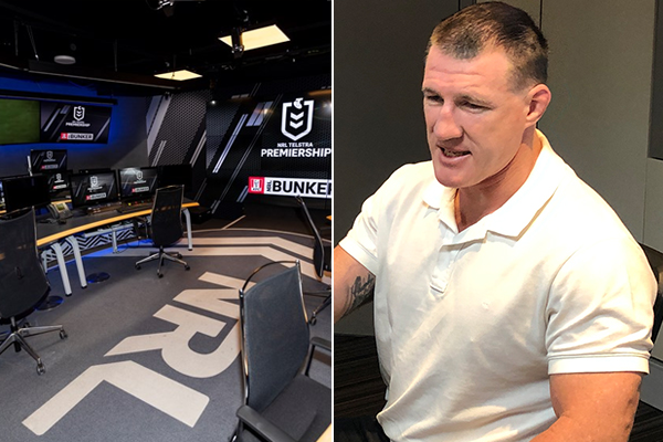 'Technology's here to stay': Paul Gallen defends NRL bunker