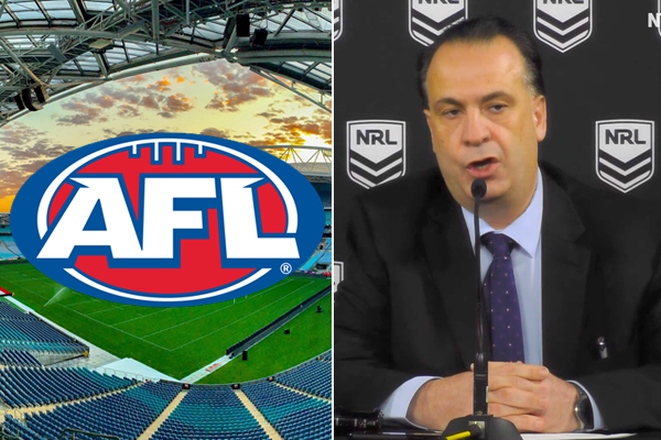 Article image for Peter V'landys retracts controversial comments about AFL Grand Final