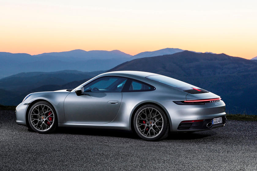 Porsche's new 911 Carrera – in its 8th generation a simply stunning sports coupe.