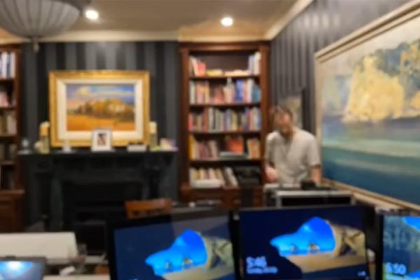 BEHIND THE SCENES: Ray Hadley's home studio set-up