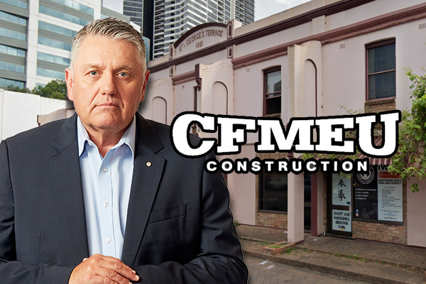 Article image for 'It is stupid': Ray Hadley unites with CFMEU over unlikely cause