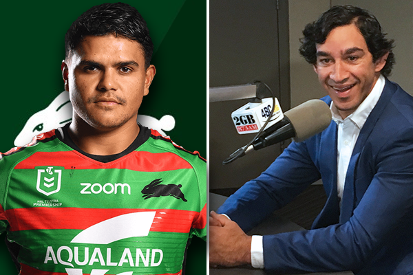 Article image for Johnathan Thurston 'extremely proud' of outspoken Latrell Mitchell