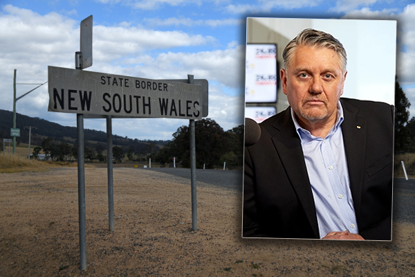 Article image for 'Just do it!': Ray Hadley supports calls for NSW to move border with QLD