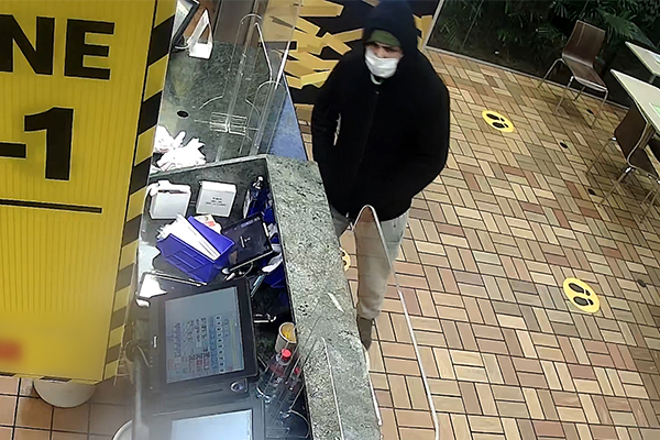 WATCH | Police release CCTV in search for armed robber