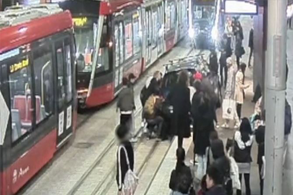 WATCH | Light rail near misses exposed in shocking new footage