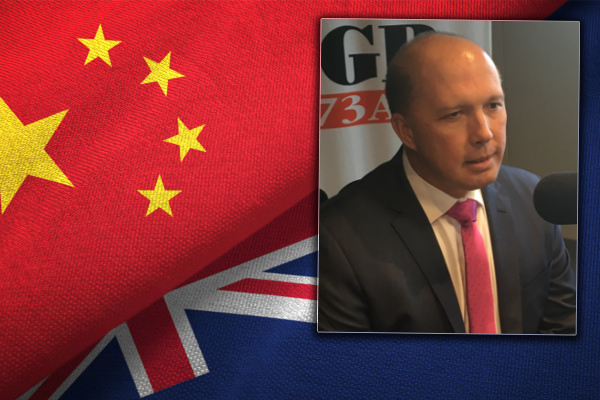 Peter Dutton welcomes crackdown on university deals with China