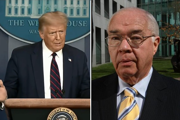 Laurie Oakes' warning for Australians facing a Trump re-election