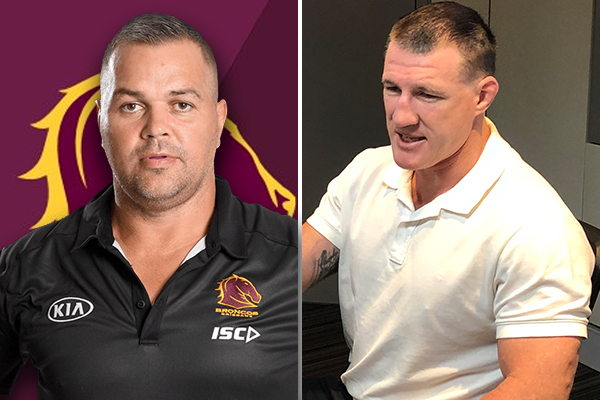 Paul Gallen commends Anthony Seibold on 'the best decision he's made'
