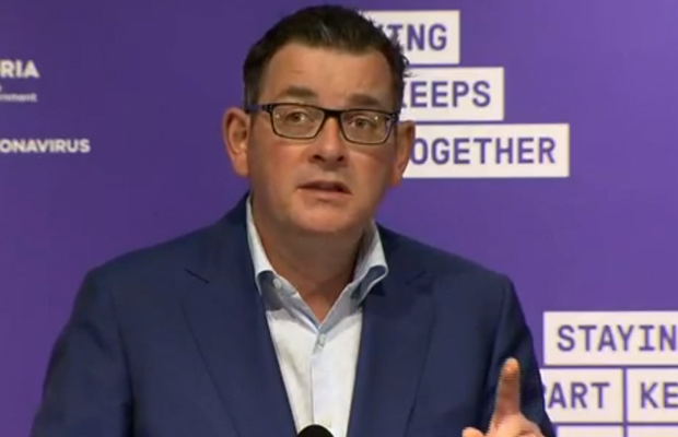 Article image for 'He's pretty good at spin': Gladys Berejiklian responds to Dan Andrews' 'galling' shot at NSW