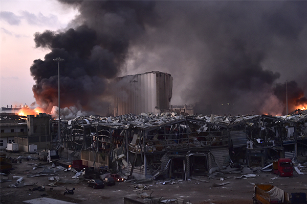 Article image for Warnings Newcastle stockpile of explosive chemicals could cause Beirut-style blast