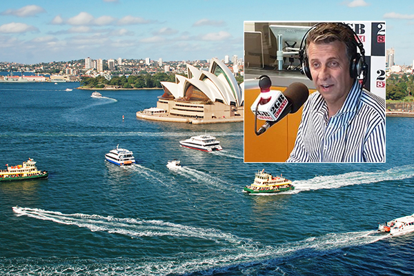 Andrew Constance says 'ridiculous' ferry design is 'fair enough'