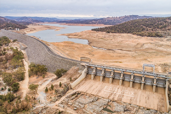Article image for PHOTOS | NSW dam transformation
