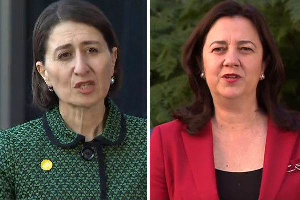 Article image for Gladys Berejiklian admits to relationship breakdown with QLD Premier