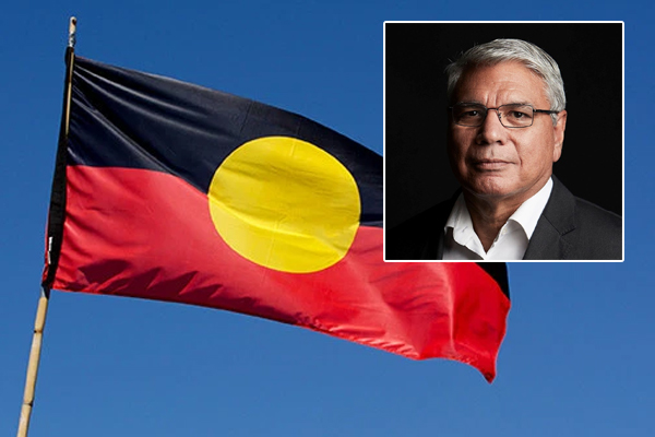 Warren Mundine offers solution to free Aboriginal flag from copyright claim