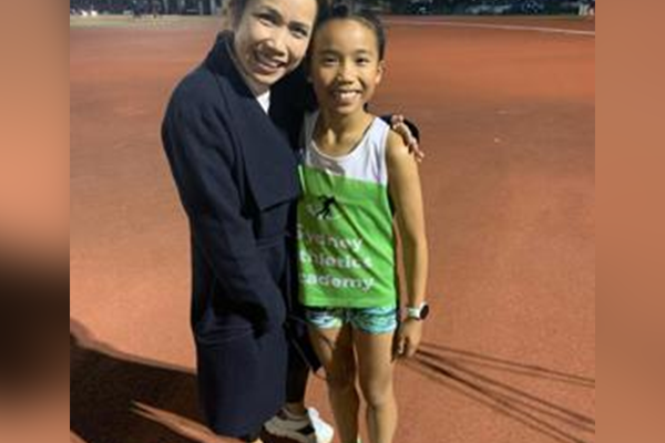Article image for World's fastest 11-year-old's Olympic ambitions for Brisbane 2032