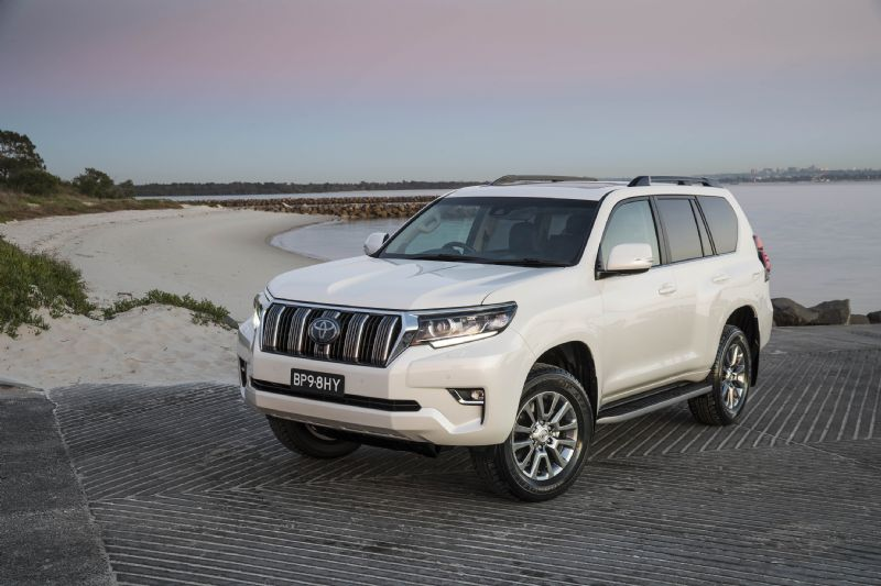 Toyota's LandCruiser Prado 4WD, more power and torque for 2021 with improved  safety and the latest Multi-media system.