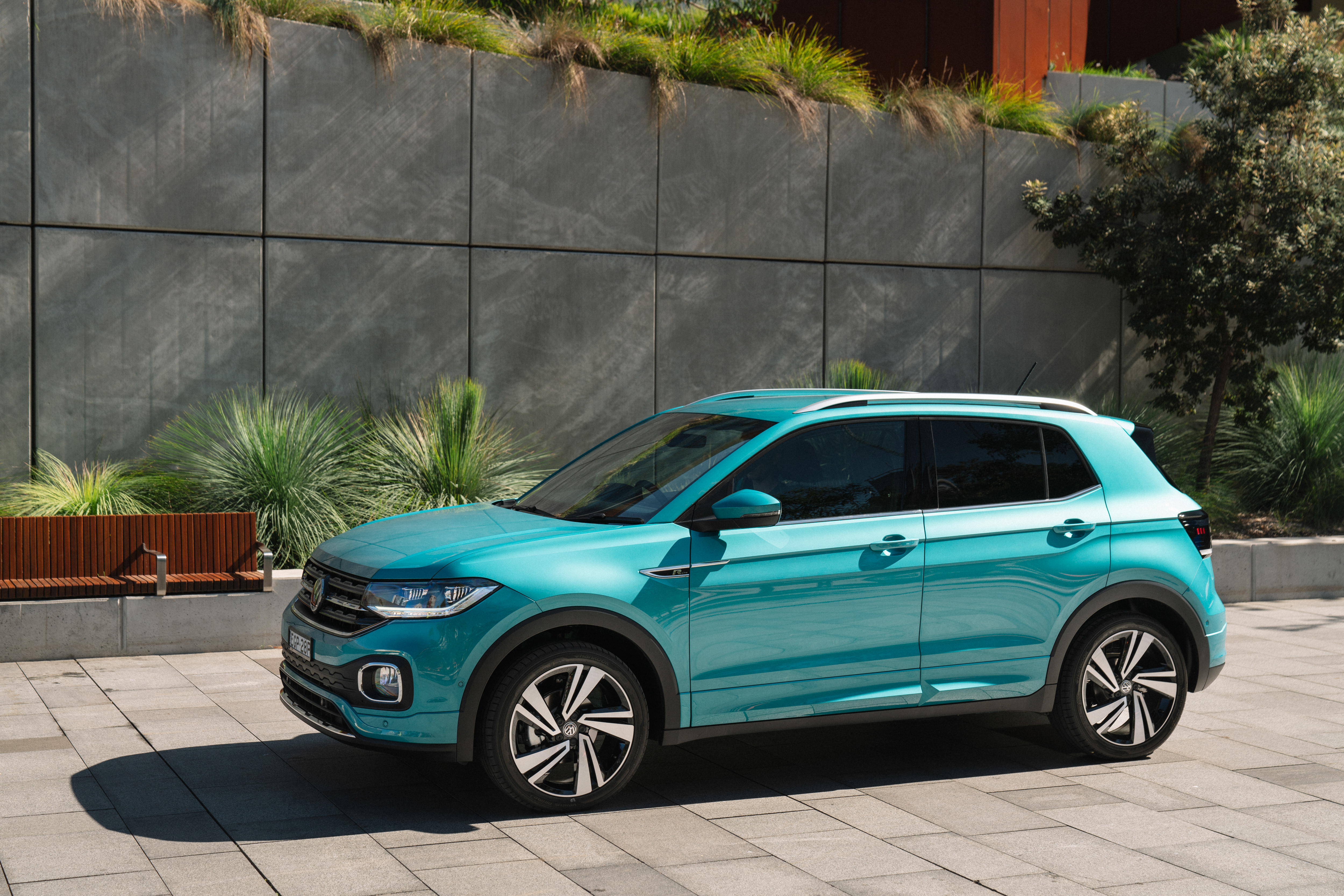 Volkswagen's compact T-Cross SUV – a little expensive but highly equipped for the money