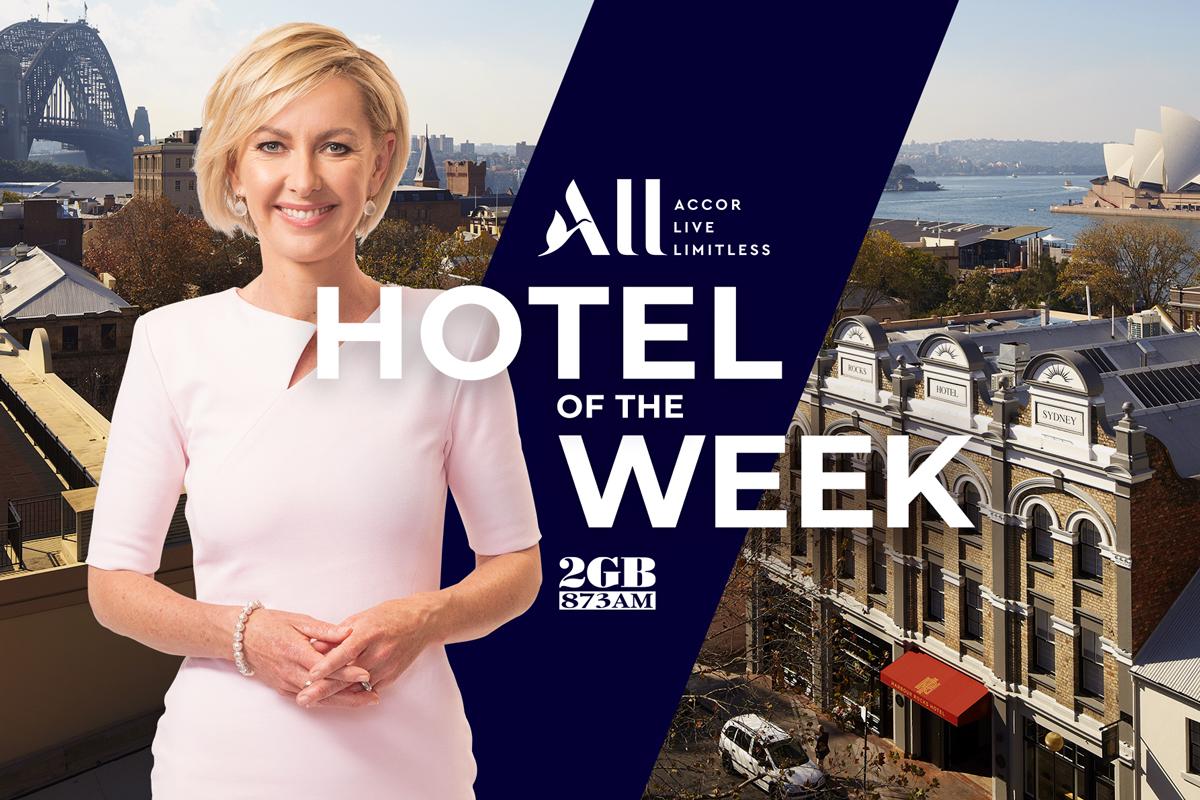 2GB Hotel of the Week – Harbour Rocks Hotel