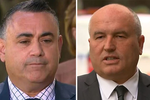 Article image for Police Minister calls on John Barilaro to step down after 'unprovoked' threat