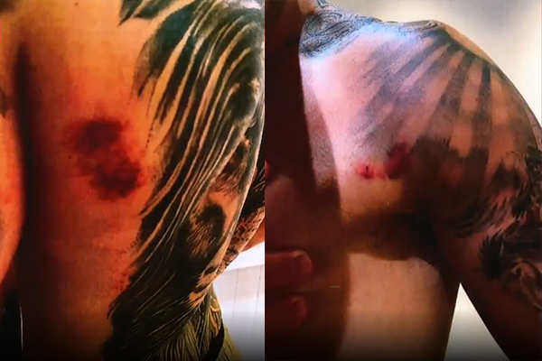 Article image for Curtis Scott case escalates as lawyer releases brutal photos