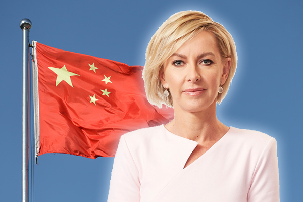 Deborah Knight confronts Labor leader over soft response to China
