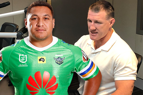 Article image for Josh Papalii reminisces on battles and 'big wins' alongside Paul Gallen