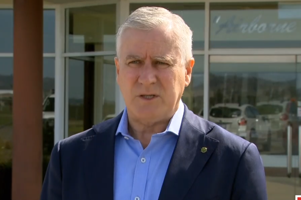 Article image for Michael McCormack defends 'over the odds' land purchase as 'a good decision'