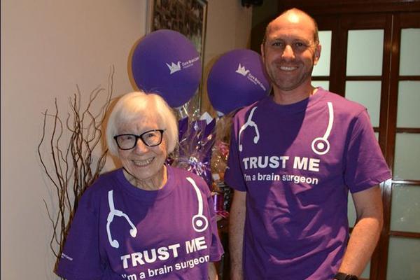99-year-old cancer survivor's inspirational quest