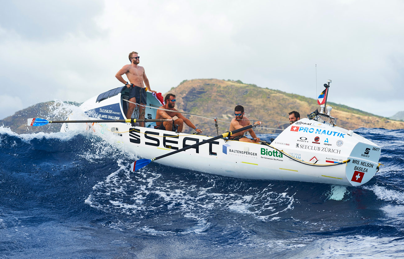 Article image for Childhood mates embark on mammoth rowing endeavour