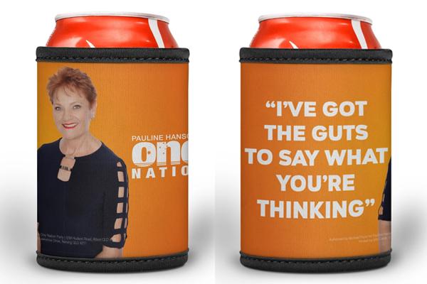 Pauline Hanson stubby holders instigate fury over AusPost double standard