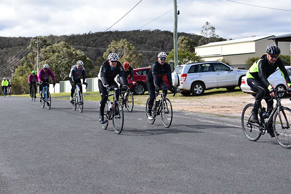 Article image for Pollie Pedal dramas as Tony Abbott slows down the pack