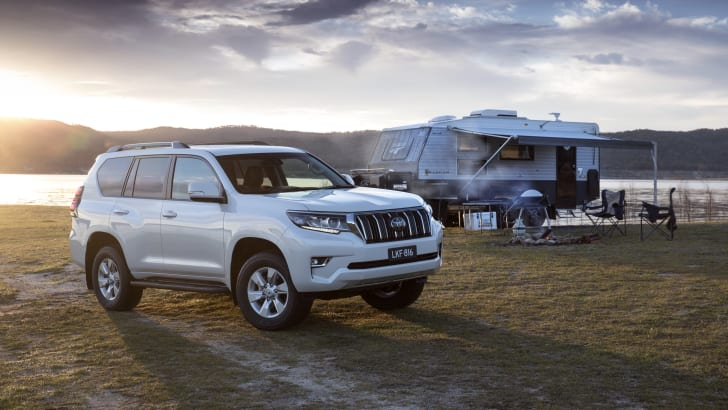Toyota's LandCruiser Prado 4WD – upgraded for 2021, now automatic only but with increased prices especially on the top-line models.