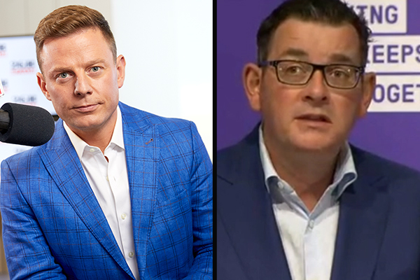 Article image for 'Focus on fixing your own mistakes': Ben Fordham slams Victorian Premier for pointing fingers