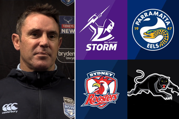 Article image for Brad Fittler reveals his tip for the 2020 Premiership