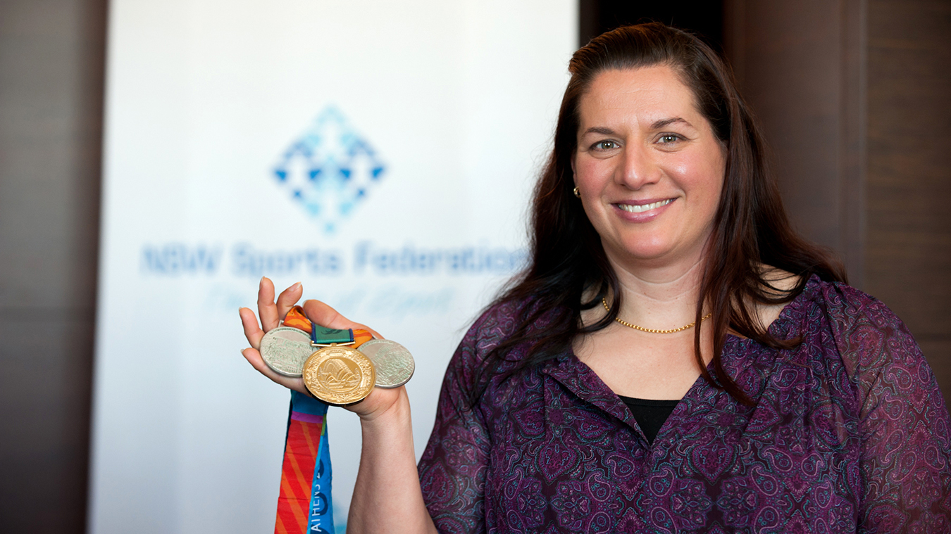 Gold medal champion Louise Sauvage remembers 20 years on
