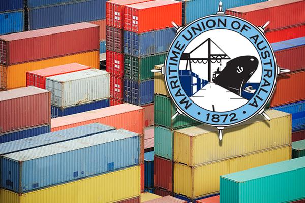 Maritime Union slams 'fantasy land' claims as wharfies take a stand