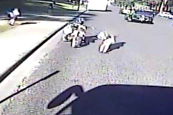 Article image for Police release confronting footage in hunt for hit-and-run motorcyclist