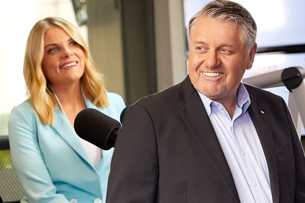 Article image for What happened when Erin Molan butt dialled Ray Hadley's open line…