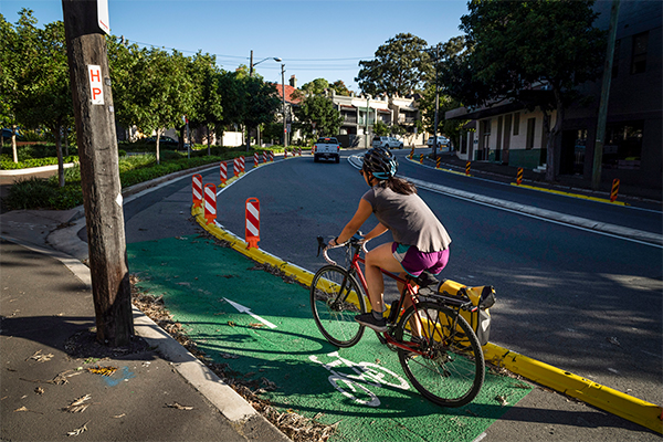 Article image for Sydney residents fighting against 'risky' cycleway