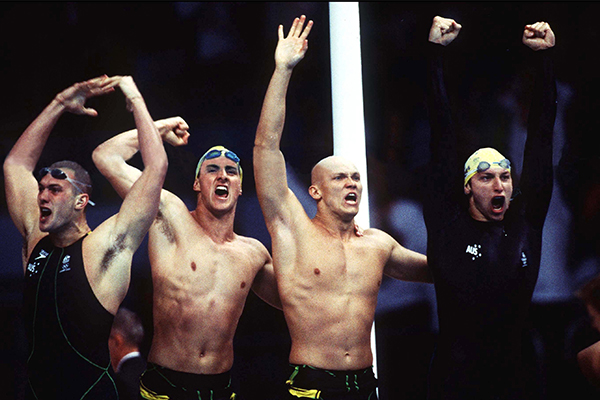 FULL RACE: Sydney 2000 Men's 4x100m Final