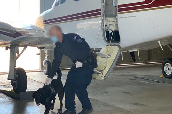Beauty salon and aircraft hangar raided in counter-terrorism operation