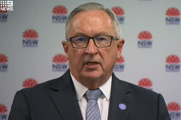NSW Health Minister calls out 'irony' of vaccine rejection amid roadmap backlash