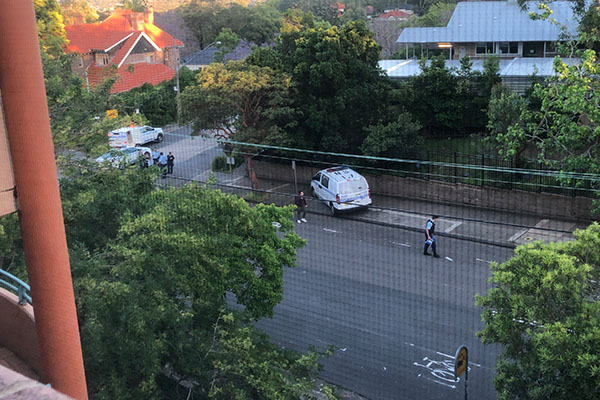Listeners detail dramatic police chase on Sydney's north shore