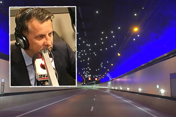 Article image for Andrew Constance defends necessity of NorthConnex truckie tolls