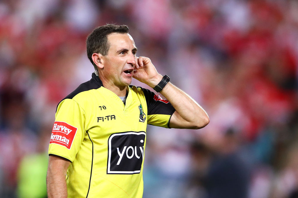 NRL Grand Final referee reveals his 'perfect outcome'