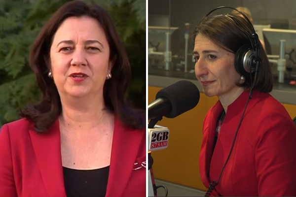 Article image for Gladys Berejiklian has 'no intention' of repeating QLD Premier's mistakes